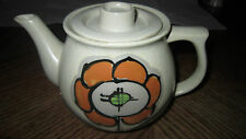 Tea Pot Made In Japan Ceramic Flower with symbol Japan could be Vintage