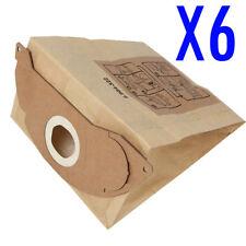 6X Vacuum Cleaner Bags Fits Karcher A2024PT A2064PT A2004 PLUS A2014 CAR VAC