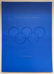 NEW Sydney 2000 Olympics Games Closing Ceremony Program book