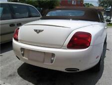 2005-2011 Bentley Continental GTC Euro Style Rear Lip Spoiler (UNPAINTED)