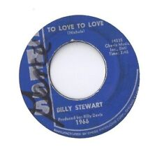 BILLY STEWART To Love to Love  Summertime 45 RECORD ORIGINAL CHESS 1966 BLUE LBL