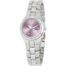 Disney Minnie Mouse Women's Stainless Steel Watch Silver Bracelet