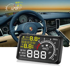 "New Universal 5.5"" Car OBD2 II HUD Head Up Display MPH KMH Speed Warning System"