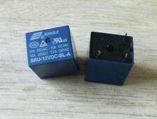10pcs 4pins 12V SRU-12VDC-SL-A 10A 250VAC/30VDC SONGLE Relay
