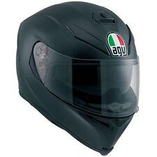 Full-face Fiber Helmet AGV K-5 K5 S E2205 Solid PLK Black Matt Plain Mono L