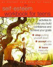Self-Esteem Workbook for Teens: Activities to Help You Build Confide... NEW BOOK