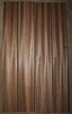 "Zebrawood quarter sawn guitar neck blank. 36X4X1"" A grade, sold individually."