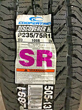 2 New P 235 75 15 Cooper Discoverer H/T Tires