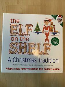 ELF ON THE SHELF-Book & Blue Eyed Girl Elf! BRAND NEW!