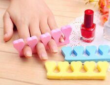 10 Pairs Soft Finger Toe Separator Foot Nail Art Supplies For Nail Art Salon
