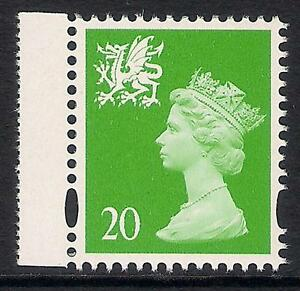 Wales 1998 W79a 20p photo. right band perf. 14 booklet stamp MNH