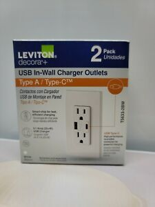 USB IN WALL CHARGER OUTLETS