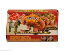 Asantee TAMARINDO & Latte di capra sapone sbiancante 120 x 125 G Bars [Full Custodia AFFARE]