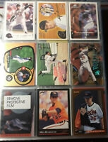Mike Mussina Baltimore Orioles 9 Card Lot