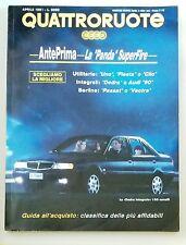 67585 QUATTRORUOTE a. XXXVI n. 426 1991 - Panda Superfire - Uno Fiesta e Clio