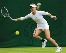 EUGENIE GENIE BOUCHARD SIGNED 8X10 PHOTO WOMENS TENNIS WIMBLEDON FRENCH OPEN A
