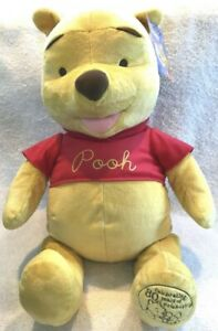 "Disney Winnie The Pooh 24"" Plush 80 Years Toys R Us Exclusive New 2005"