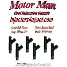 Motor Man - 4F2E-A4B Reman Siemens Fuel Injector Set (6) Ford Mercury 3.9L 4.2L