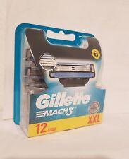 Gillette Mach3  Rasierklingen für Männer, 12er  Pack ) 100% Original