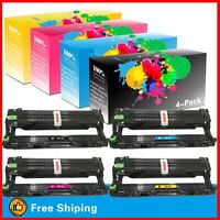 4PK DR-221 DR221 Drum Unit for Brother DR221CL DCP9020CDW HL3170CDW MFC9340CDW