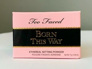 Too Faced Born This Way Setting Powder TRANSLUCENT Beauty 17g 0.56oz Full Size