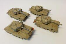Extremely RARE Lot of 4 Original Israeli 1960's GAMDA Centurion Tank Militaria