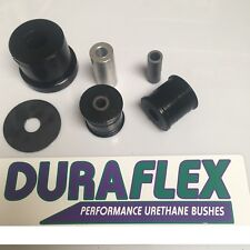 BMW E46 DIFF CARRIER FRONT & REAR BUSH SET DURAFLEX  POLYURETHANE