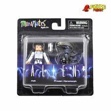 Aliens Minimates Series 3 Ash & Frozen Xenomorph
