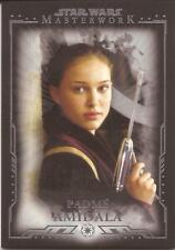 "Star Wars Masterwork - ""Padme Amidala"" Base Card #8"