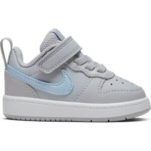 Nike Court Borough Low 2 EP (TD) Toddler Wolf Grey CK0592-001   SIZE: 4C