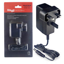 Stagg Reverse Polarity 9-volt / 1 A AC Adapter for Effect Pedals