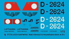Peddinghaus 2756 1/72 Ju 52/3m Rudolf Berthold
