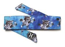 Hk Army Headband Cat Cobain Blue Paintball Padded Head Band Tie Protection New