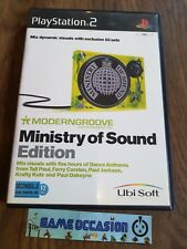 MODERNGROOVE MINISTERIO OF SOUND EDITION PS2 SONY PLAYSTATION 2 PAL COMPLETO