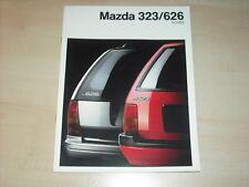 60964) Mazda 323 626 Kombi Prospekt 09/1990