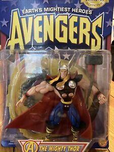 Marvel Earths Mightiest Heroes Avengers Mighty Thor Action Figure ToyBiz 1997
