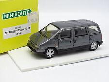 Miniroute Resina 1/43 - Citroen Evasión 2.0 SX Gris 1995