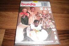 BURDA Schnittmuster 4053   --   8teilige PUPPENKLEID-KOMBINATION
