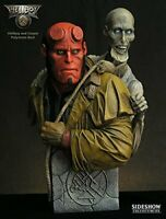 HELLBOY & CORPSE BUST >> Sideshow Collectible >> NIB!! >> #853 >> VERY COOL!!!