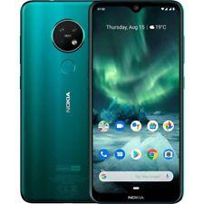 "Nokia 7.2 64GB 6.3"" LTE Dual Sim Android 9 Cyan Green Sim Free UK Stock"