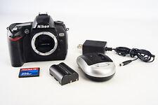 Nikon D70 6.1MP Digital SLR Camera Body with 256MB CF Card Battery & Charger V13