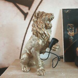 Lemmy the Lion Table Lamp