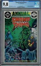 CGC 9.8 SWAMP THING ANNUAL #2 WHITE PAGES 1ST CAMEO TRYOUT JUSTICE LEAGUE DARK