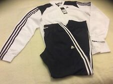 Adidas TS Basic 3S CH White/Black Tracksuit Junior M31422