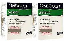 OneTouch Select 200 Test Strips Box (4 Pack of 50 each)