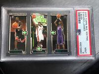 2003 Topps Rookie Matrix Chris Bosh LeBron James Dwyane Wade RC MINT PSA 9