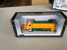 1/64 Speccast 385 PB Yellow/Green gasoline tanker (same scale as DCP)