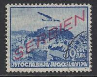 GERMANY - REICH 1941-1945 occ SERBIEN Mi 23 cat 275$ very fine used