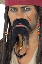JACK Pirati barba Set di NUOVO - CARNEVALE BARBA rivestimento