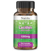 Lecithin 1200mg High Strength Sofgel - 120 Capsules